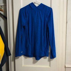 Danskin hooded shirt